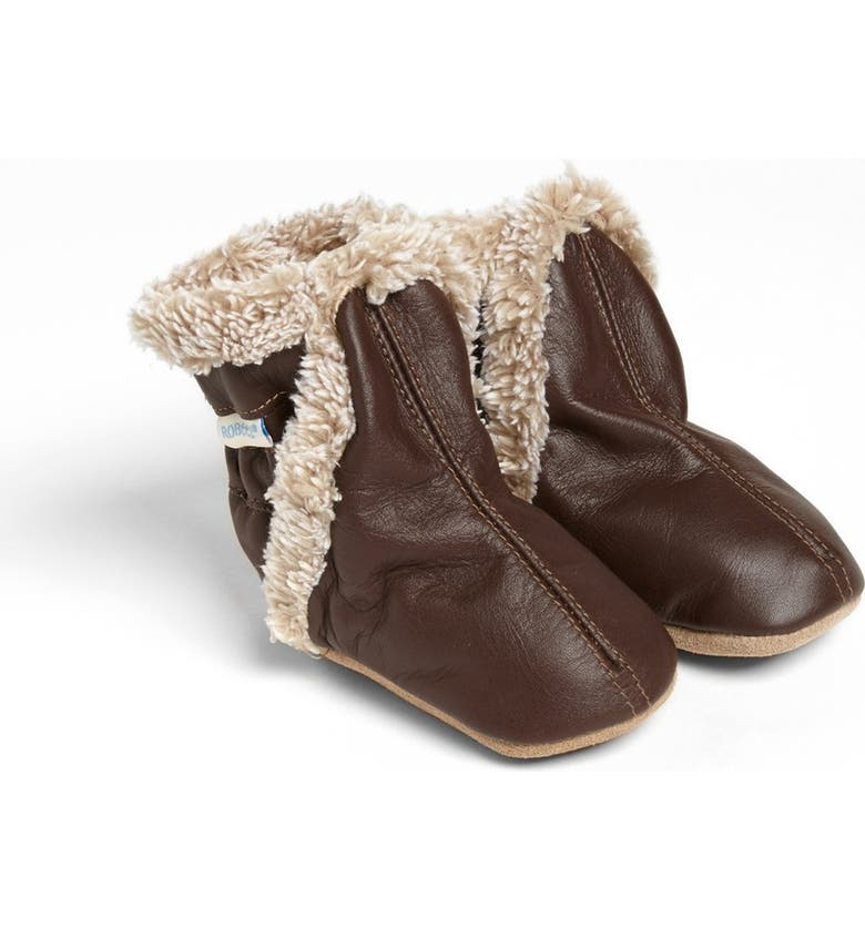 ROBEEZ<SUP>®</SUP> 'Classic' Bootie, Main, color, BROWN