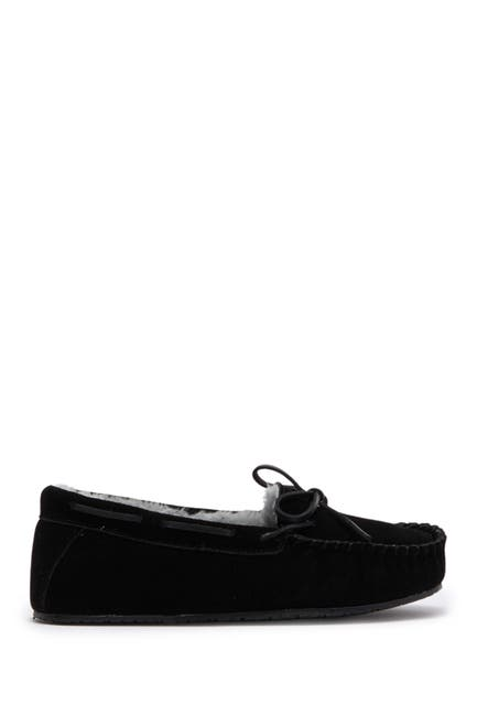Image of Minnetonka Comfy Faux Fur Moccasin