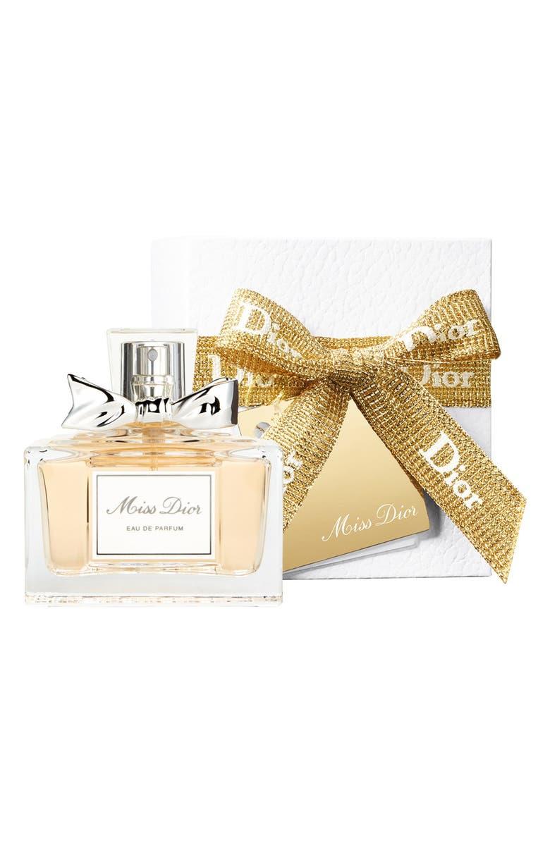 DIOR 'Miss Dior' Pre-Gift Wrapped Eau de Parfum, Main, color, 000