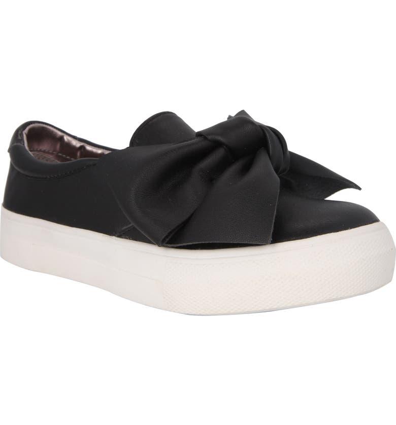 NINA Vaneza Slip-On Bow Sneaker, Main, color, 009