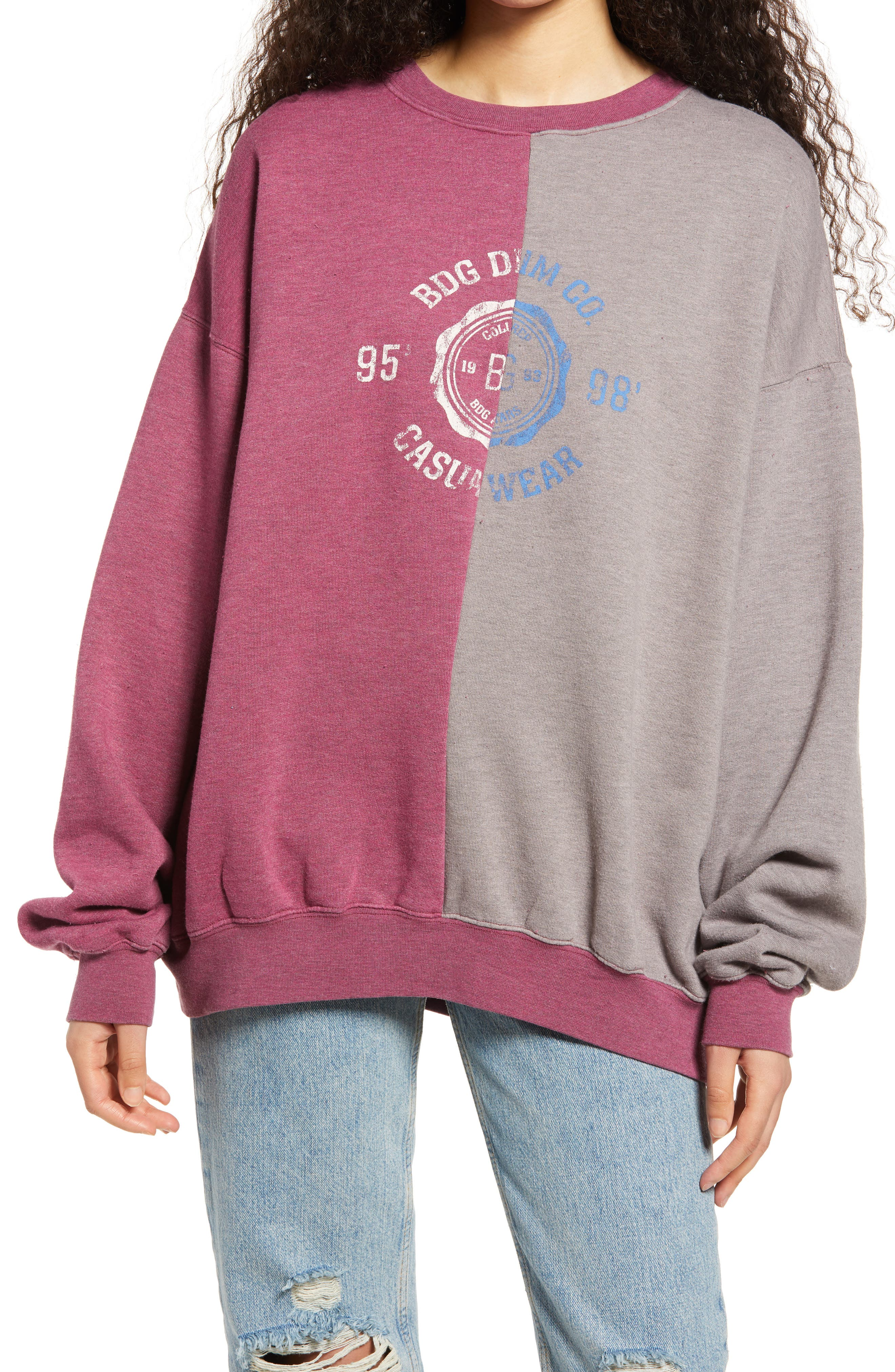 Collegiate Splice Sweatshirt