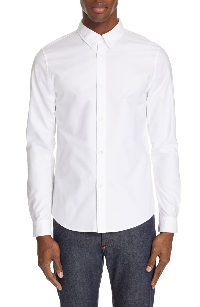 A P C Chemise Extra Slim Fit Oxford Shirt