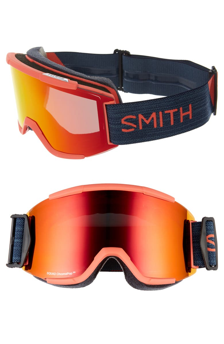 SMITH Squad Chromapop 180mm Snow Goggles, Main, color, 005