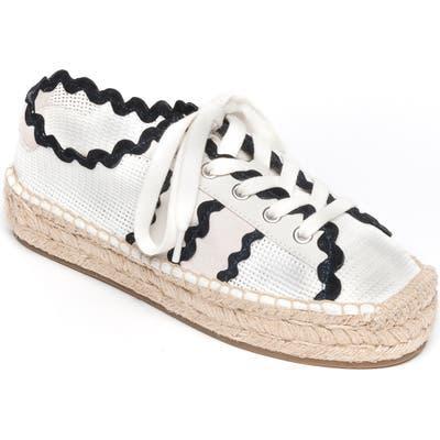 Bernardo Vale Espadrille Sneaker- White