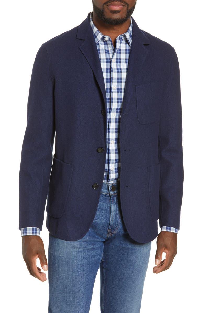 BONOBOS Slim Fit Unlined Blazer, Main, color, 400