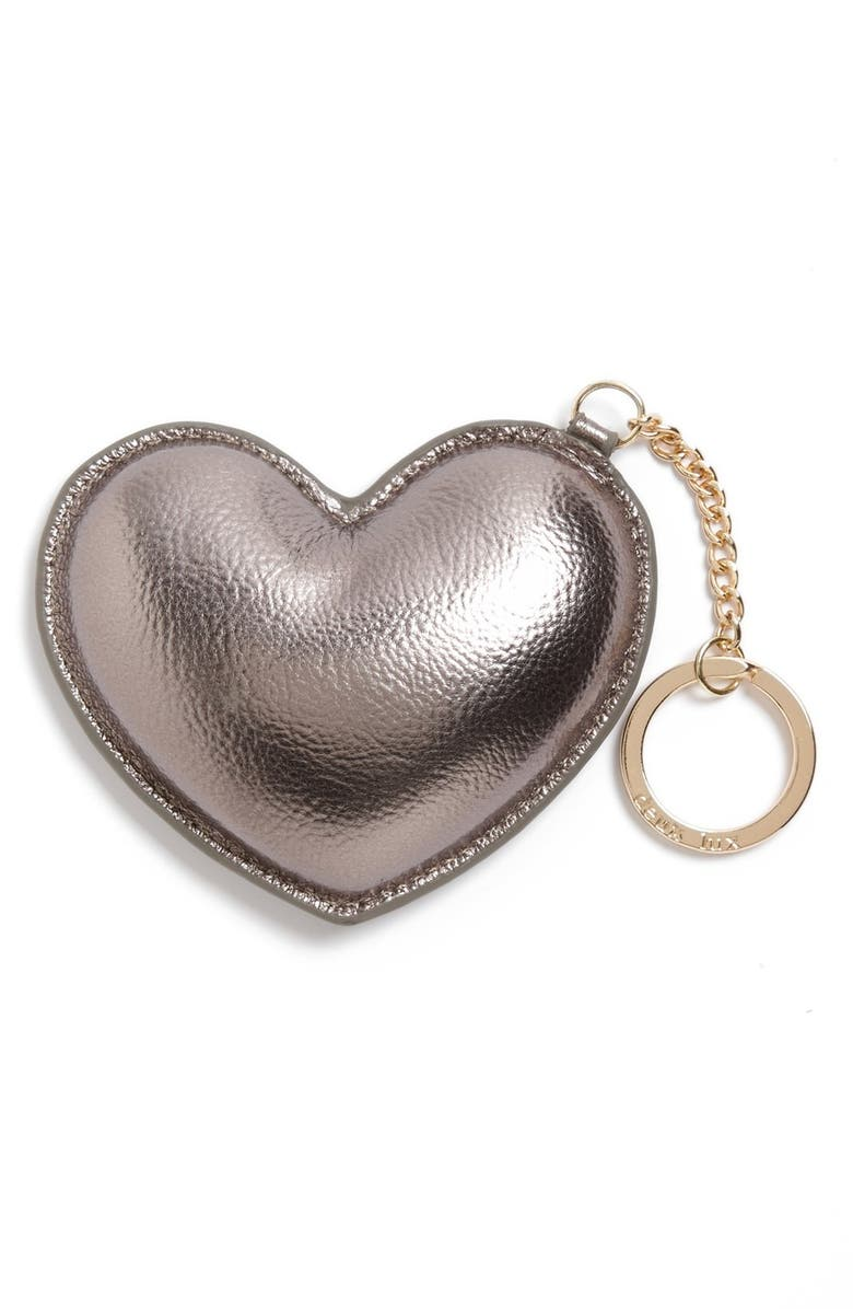 DEUX LUX 'Lulu' Heart Key Ring, Main, color, 041