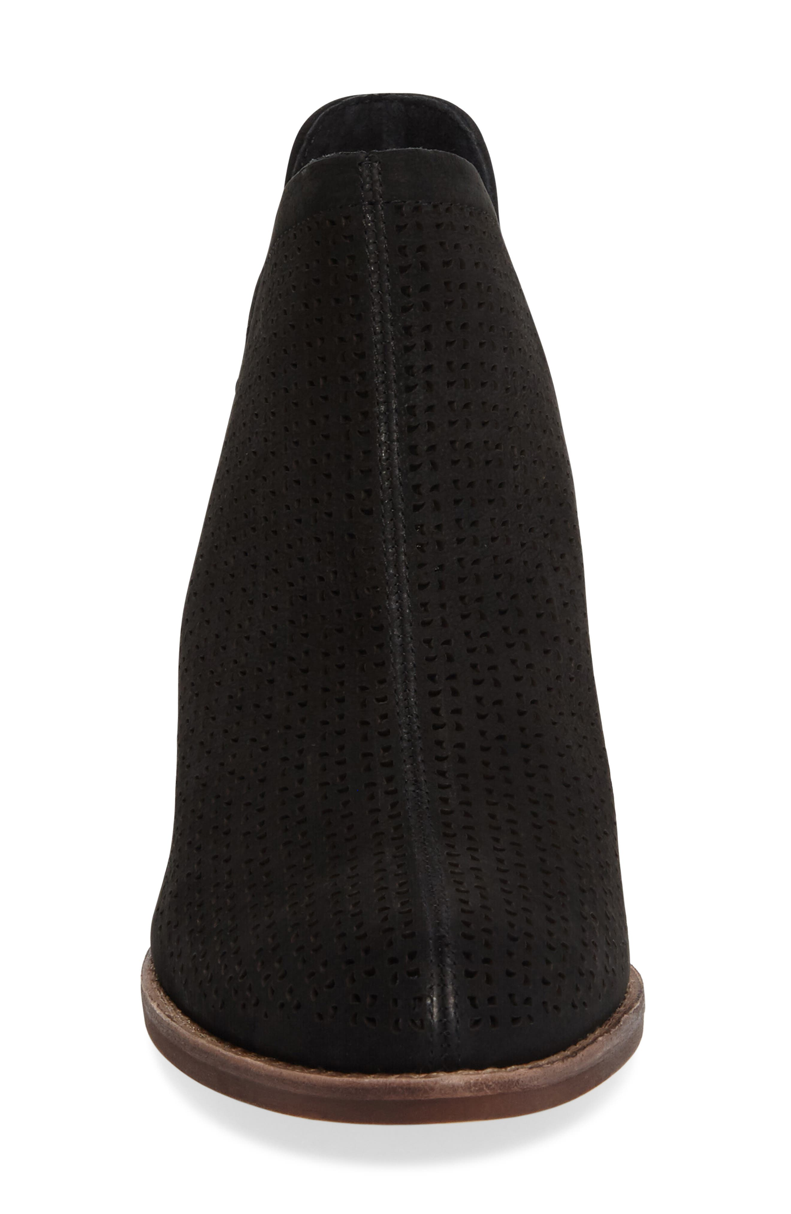 ,                             Celena Perforated Bootie,                             Alternate thumbnail 3, color,                             001