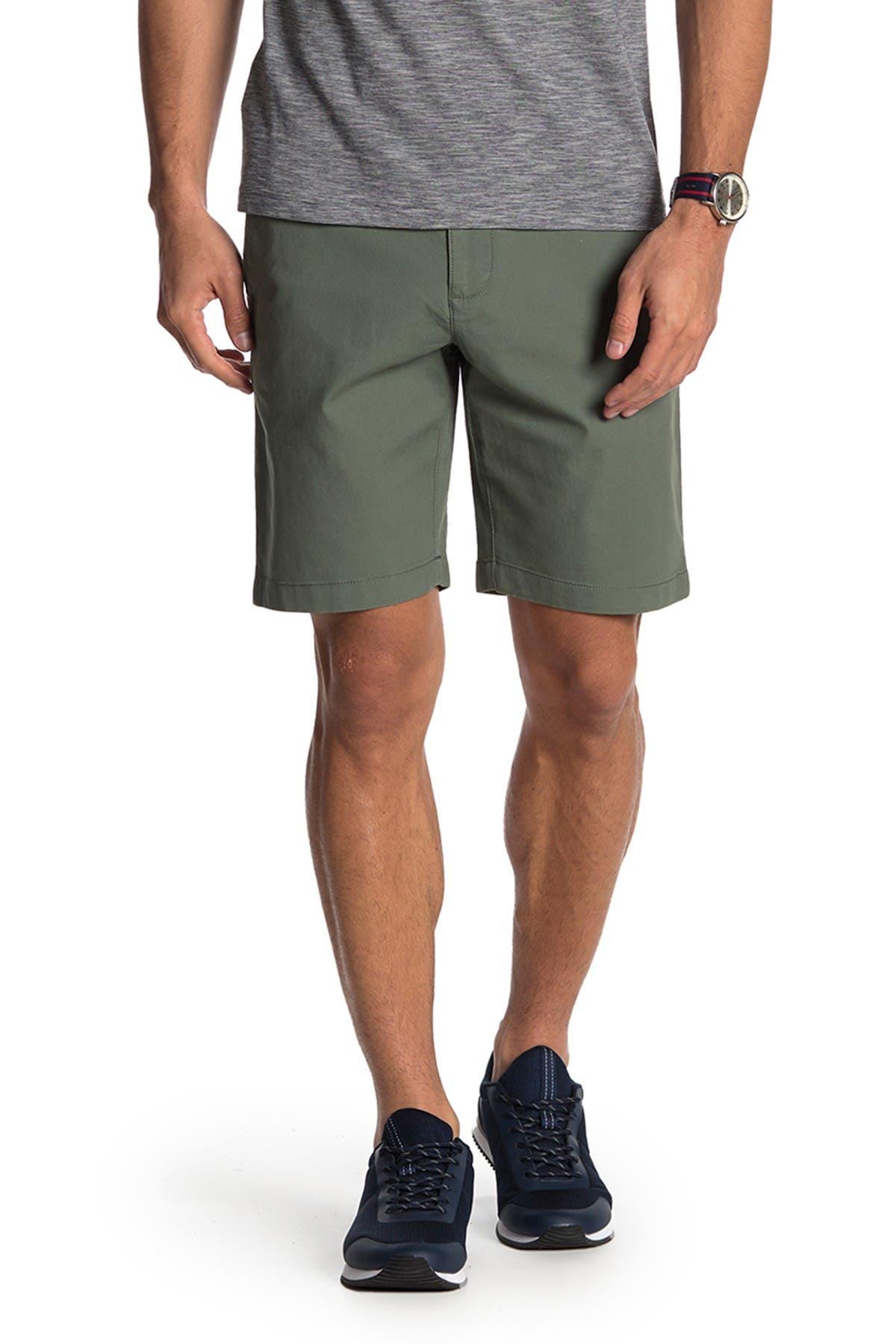 "Image of Original Penguin Bedford 9"" Stretch Cotton Shorts"