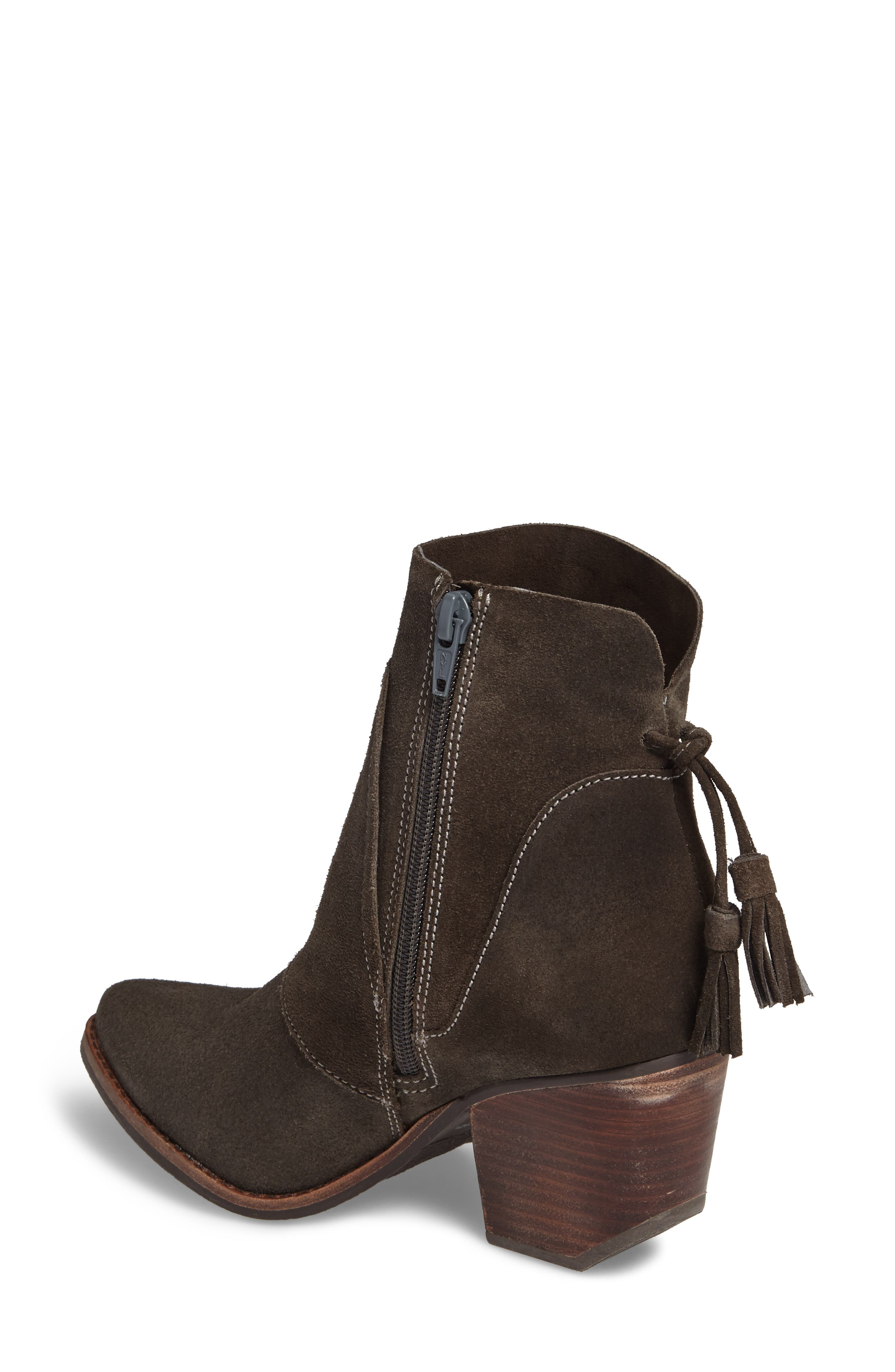 ,                             Laney Notched Heel Bootie,                             Alternate thumbnail 2, color,                             020