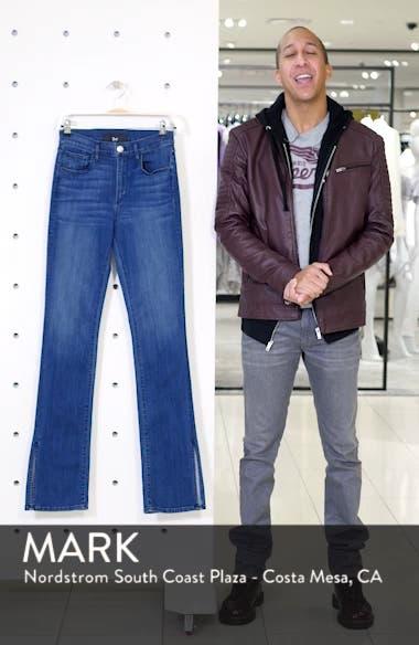 Split Hem Bootcut Jeans, sales video thumbnail
