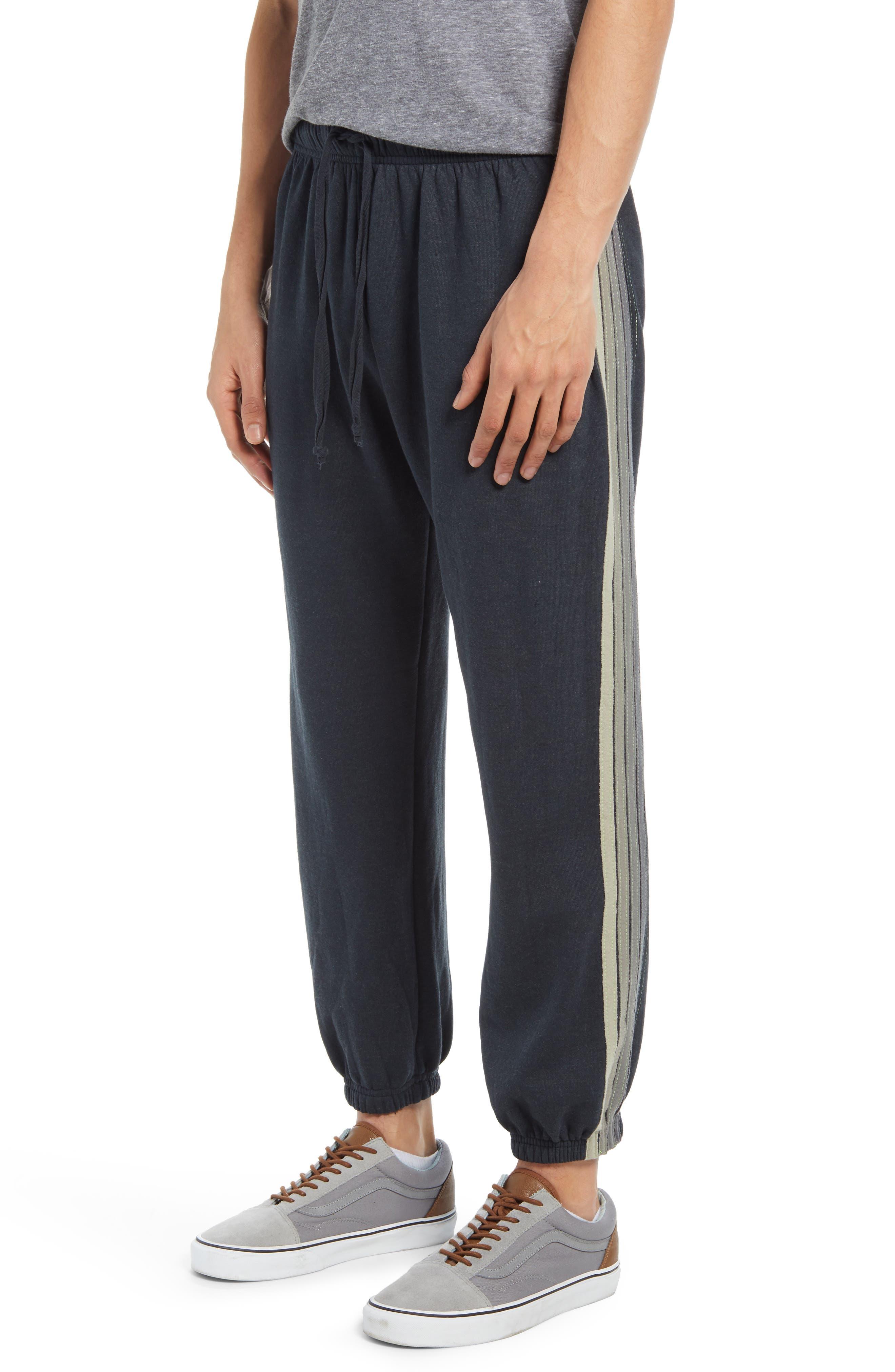 Men's Aviator Nation 5-Stripe Slim Fit Sweatpants