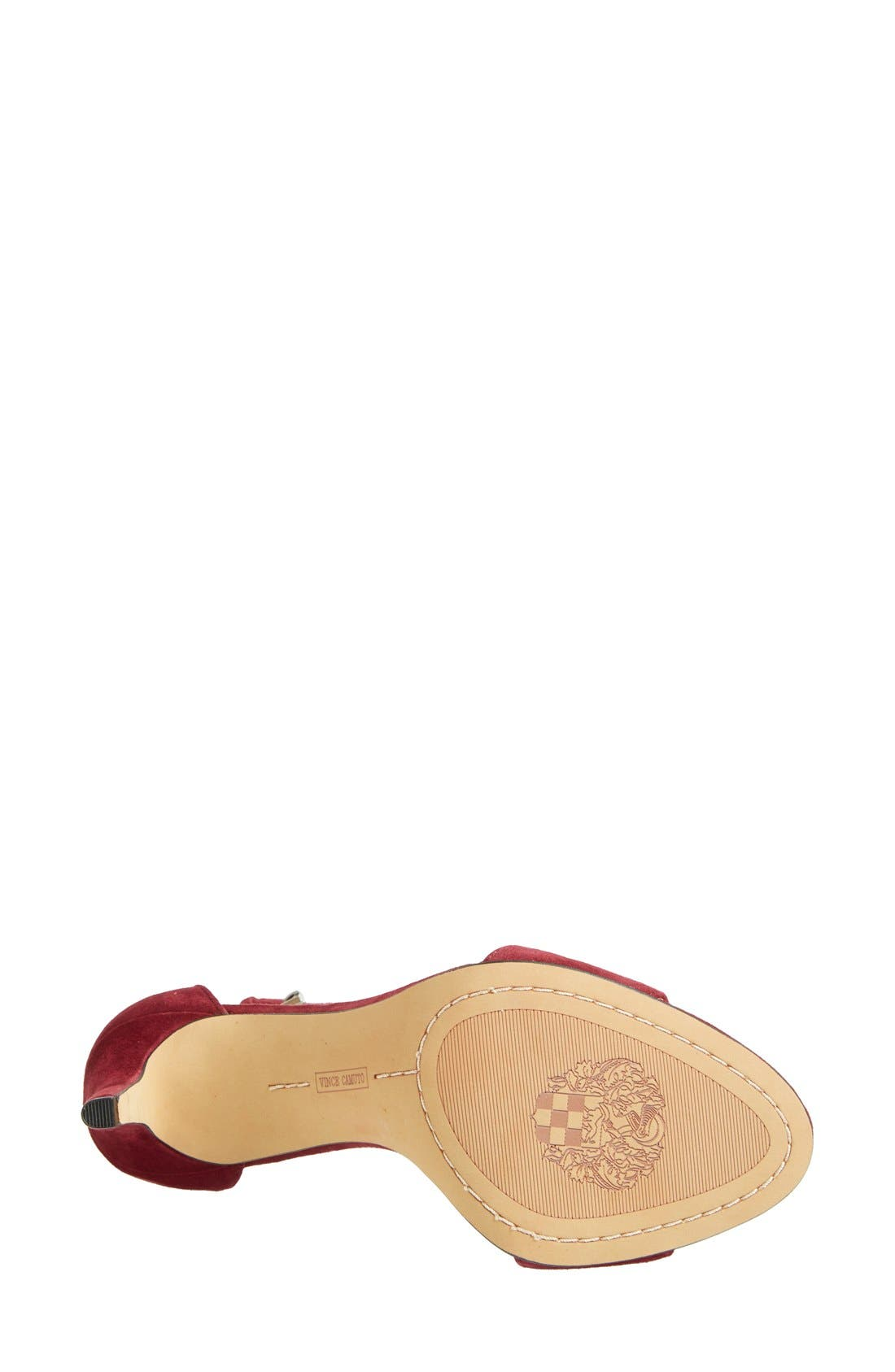,                             'Court' Ankle Strap Sandal,                             Alternate thumbnail 77, color,                             601