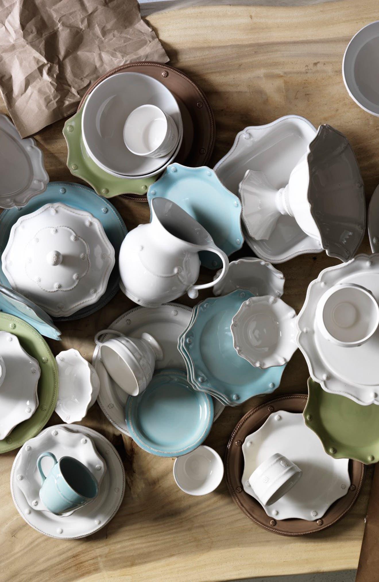 ,                             'Berry and Thread' Ceramic Creamer,                             Alternate thumbnail 3, color,                             WHITEWASH