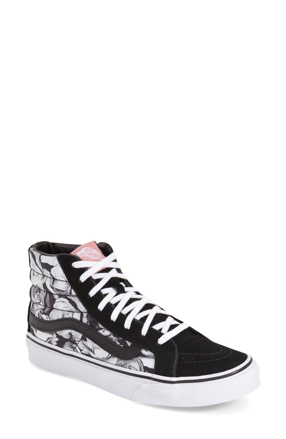 Vans 'Sk8-Hi Slim - Digi Roses' Sneaker