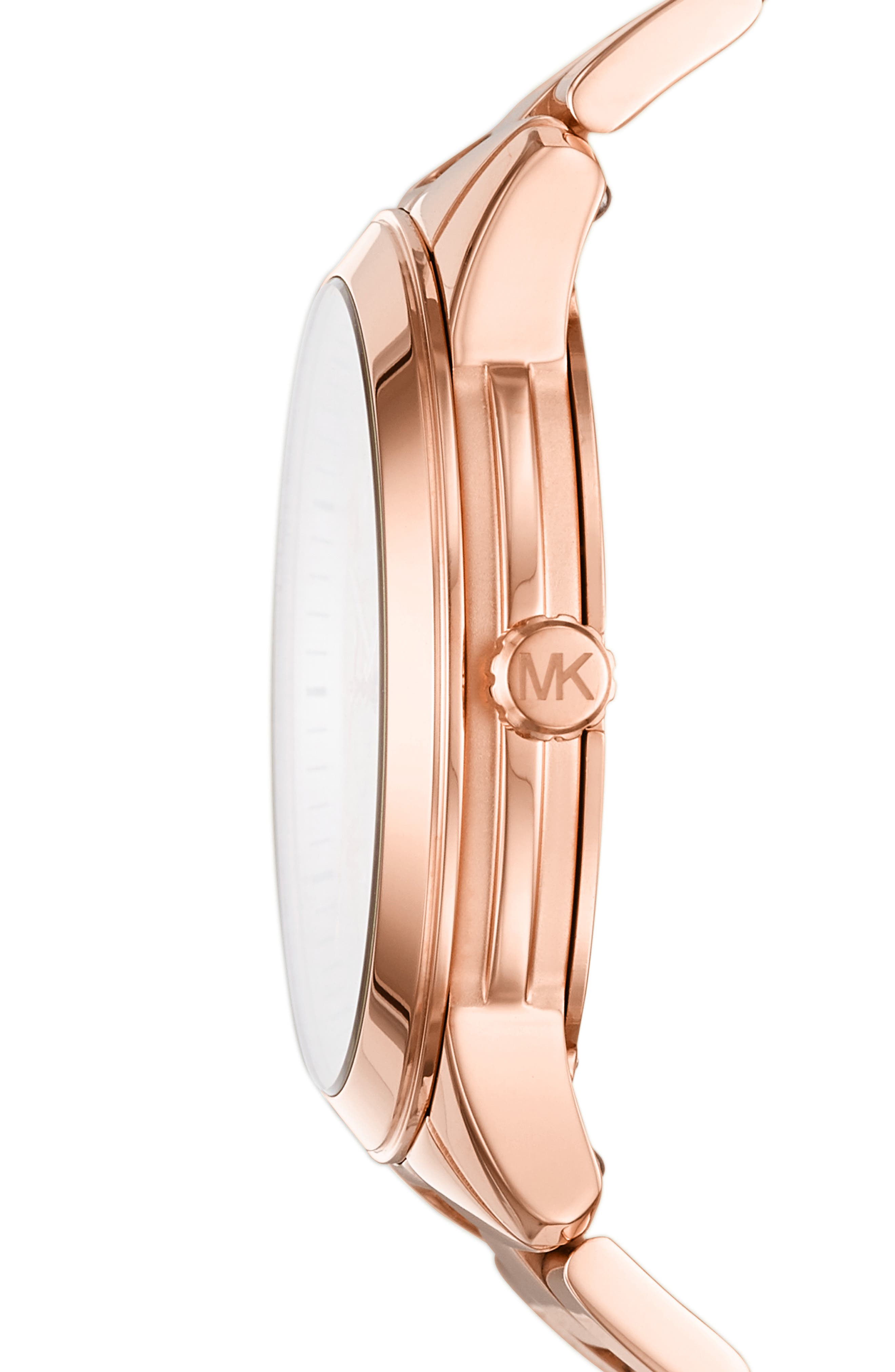 ,                             Runway Multifunction Bracelet Watch, 38mm,                             Alternate thumbnail 2, color,                             ROSE GOLD
