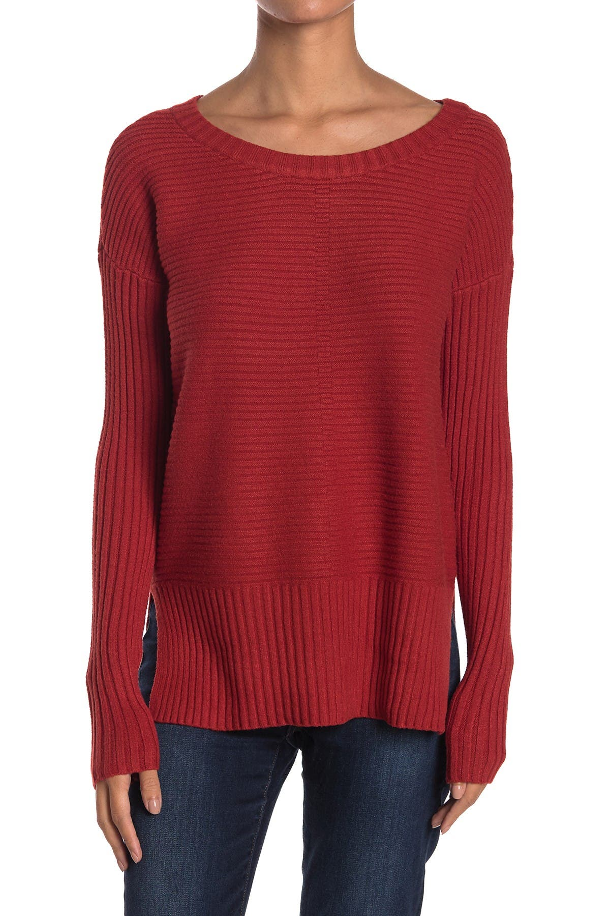 Image of Cyrus Rib Knit Pullover Sweater