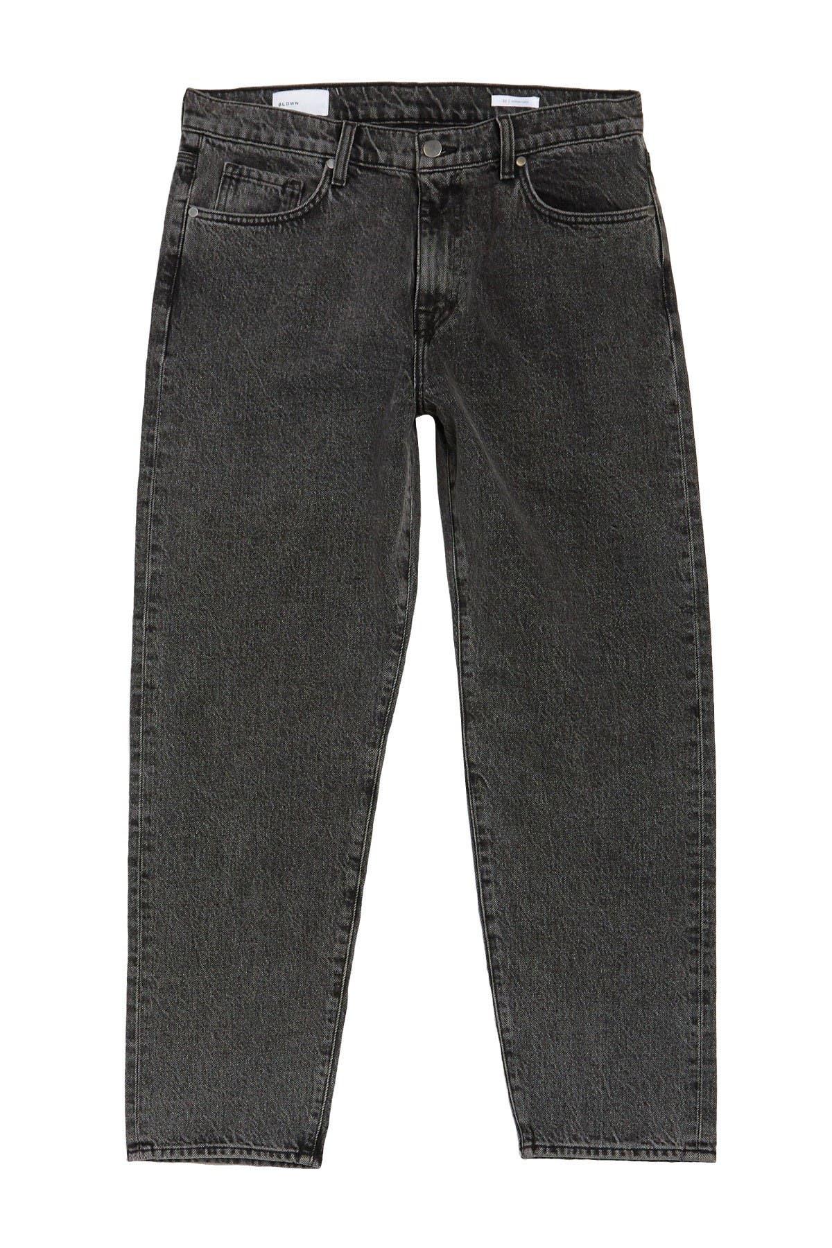 Image of BALDWIN Modern Athletic Fit Acid Wash Jeans