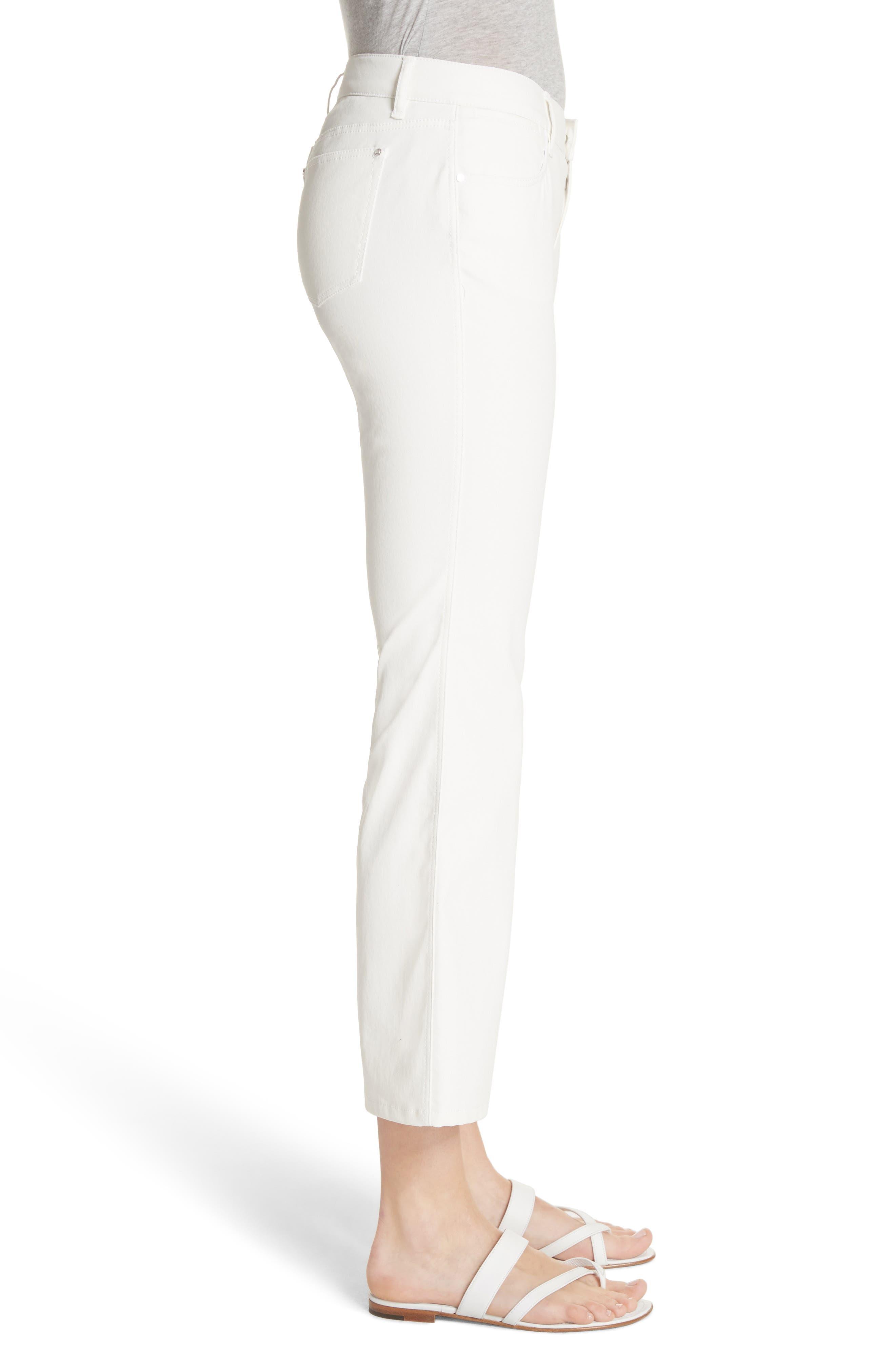 ,                             Mercer Crop Flare Jeans,                             Alternate thumbnail 5, color,                             WHITE