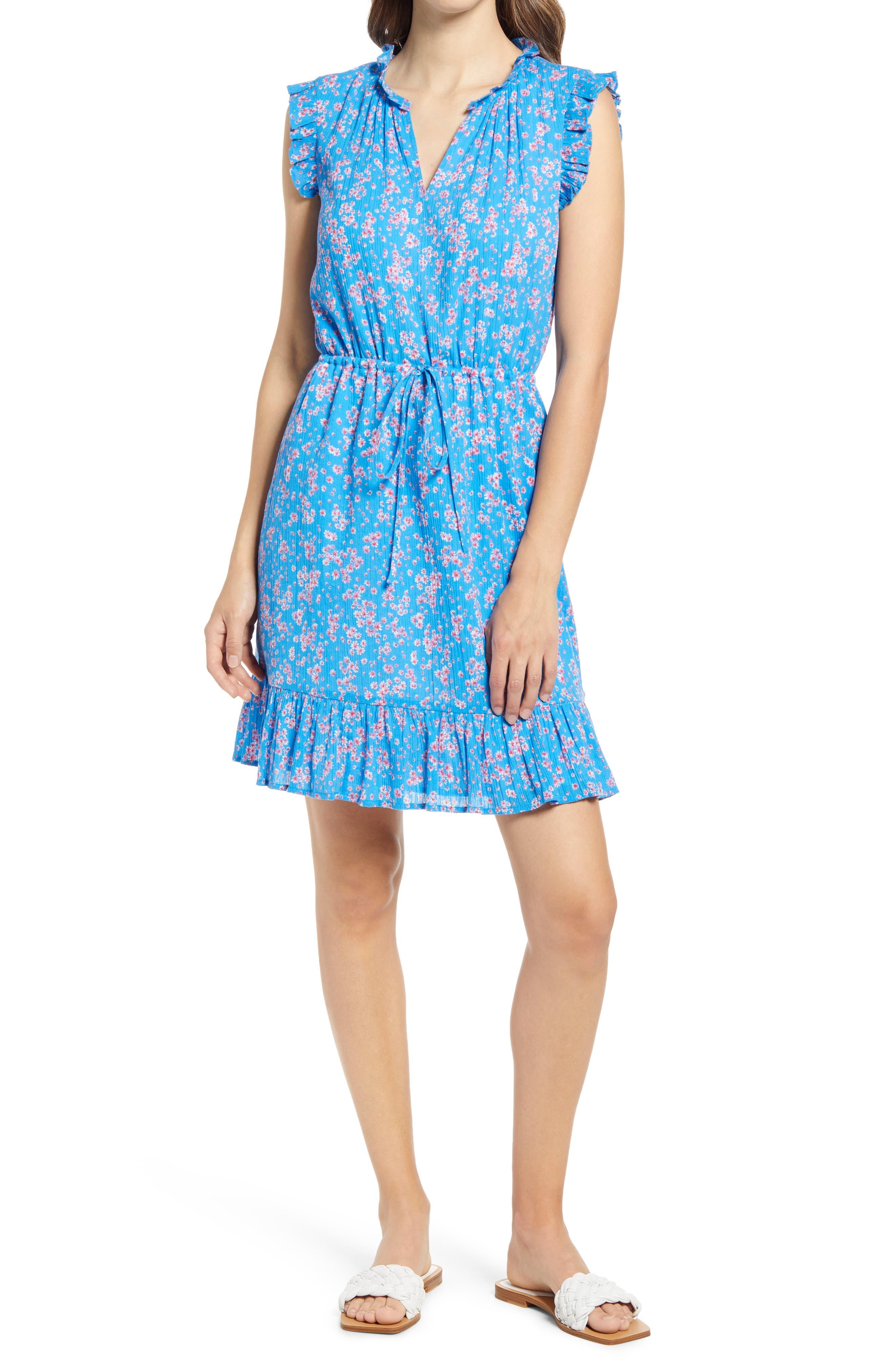 Lucinda Floral Popover Dress