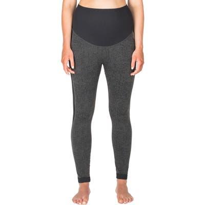 Modern Eternity Activewear Maternity Leggings, Grey
