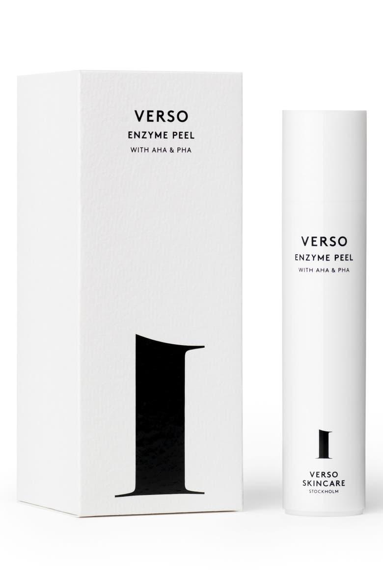 VERSO Skincare Enzyme Peel, Main, color, NO COLOR