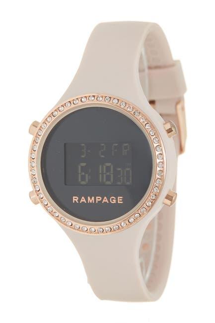 Image of Rampage Women's Digi & Pattern Watch Set, 38mm
