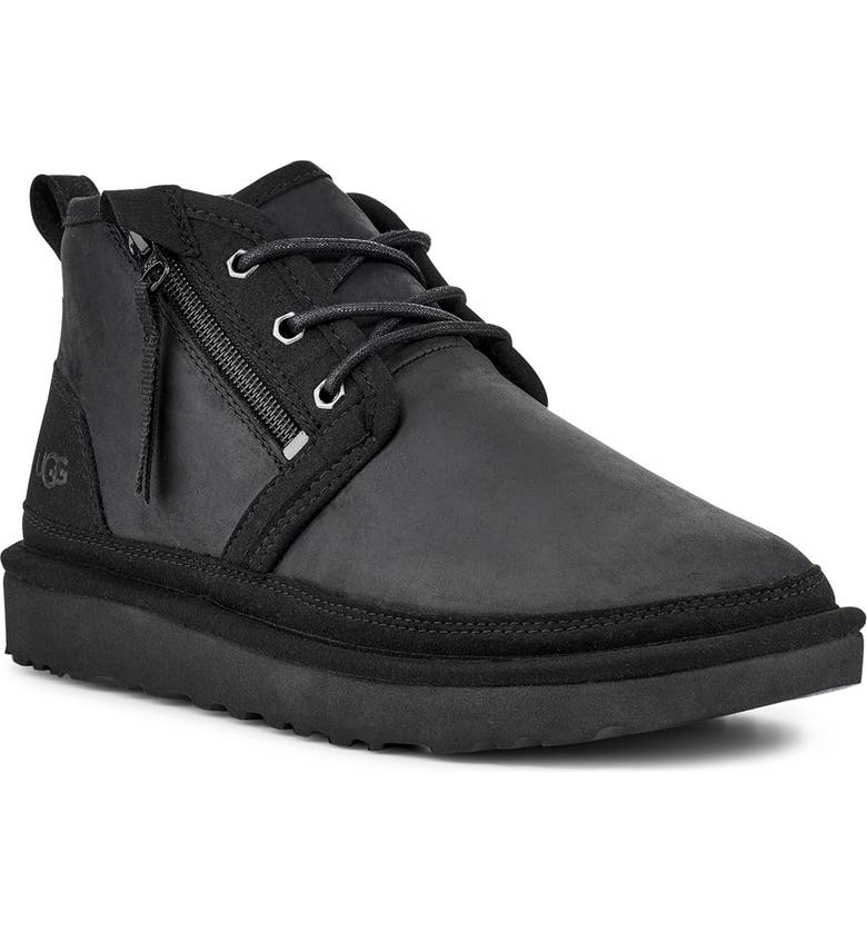 UGG<SUP>®</SUP> Neumel Chukka Boot, Main, color, BLACK