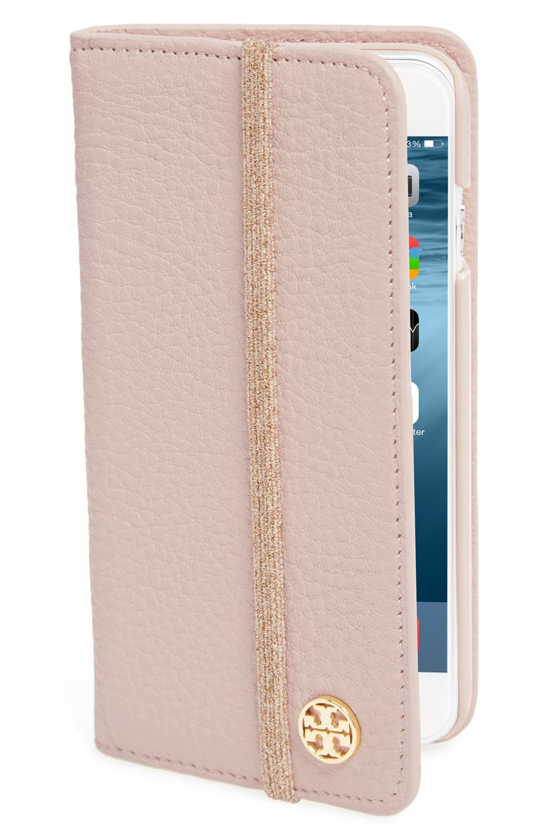 TORY BURCH iPhone 6/6s Folio, Main, color, 654