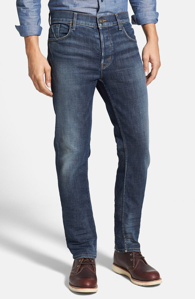 unequal in performance boy various kinds of Hudson Jeans 'Sartor' Slouchy Skinny Fit Jeans (Nomad ...