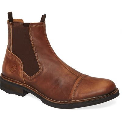 Fly London Ramz Mid Chelsea Boot, Brown