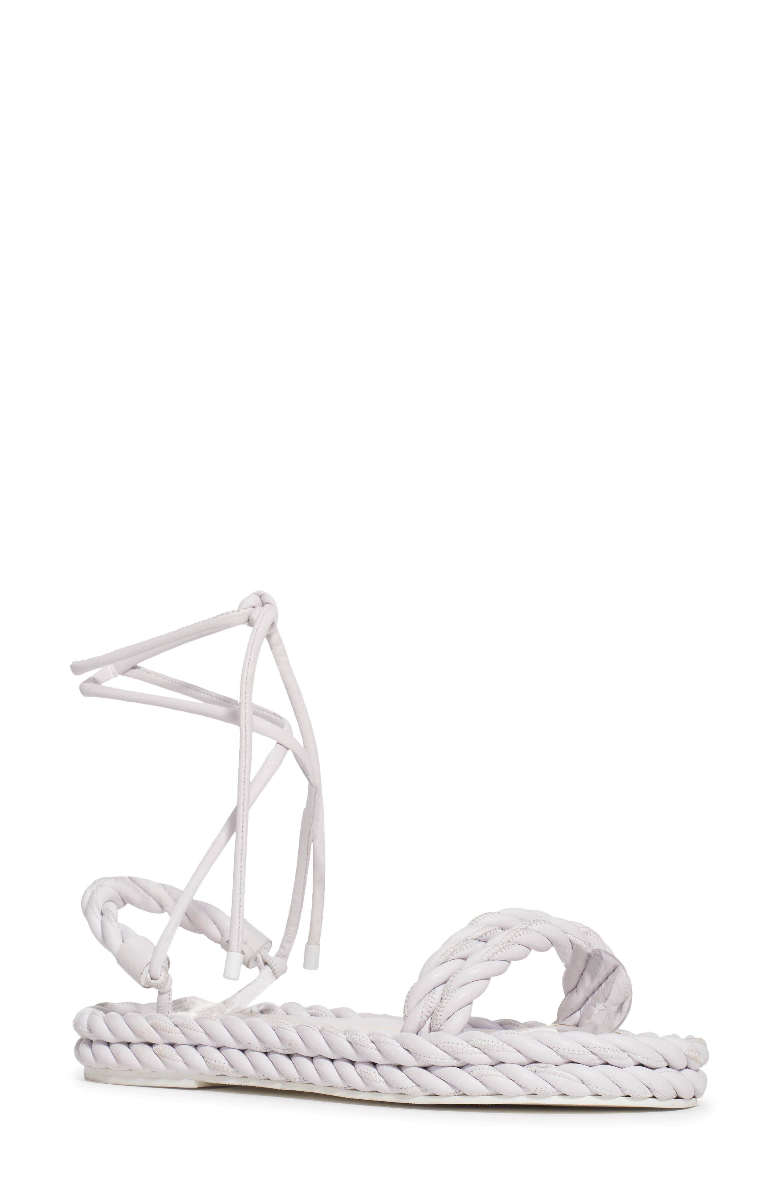 Rope Strappy Platform Sandal (Women