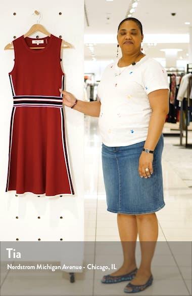 Elsie Stretch Knit A-Line Dress, sales video thumbnail