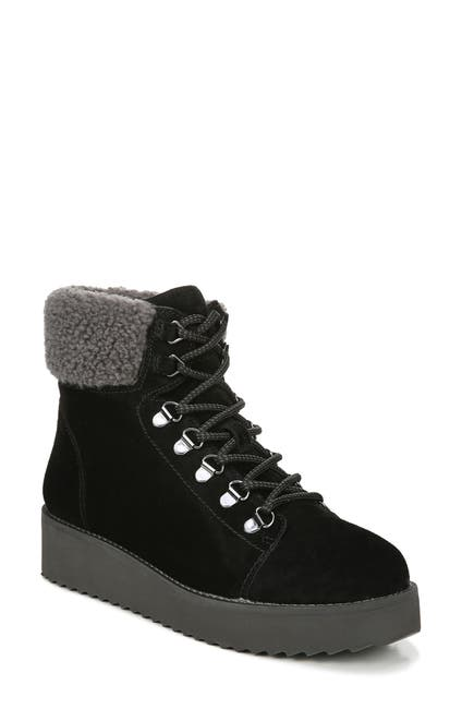 Image of Sam Edelman Franc Faux Shearling Trim Hiking Boot