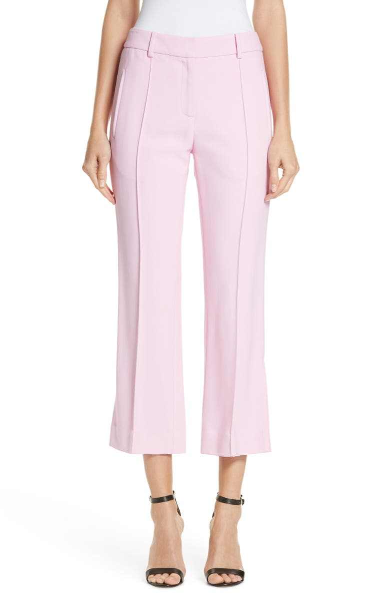 KHAITE Marianne Crop Flare Pants, Main, color, 650