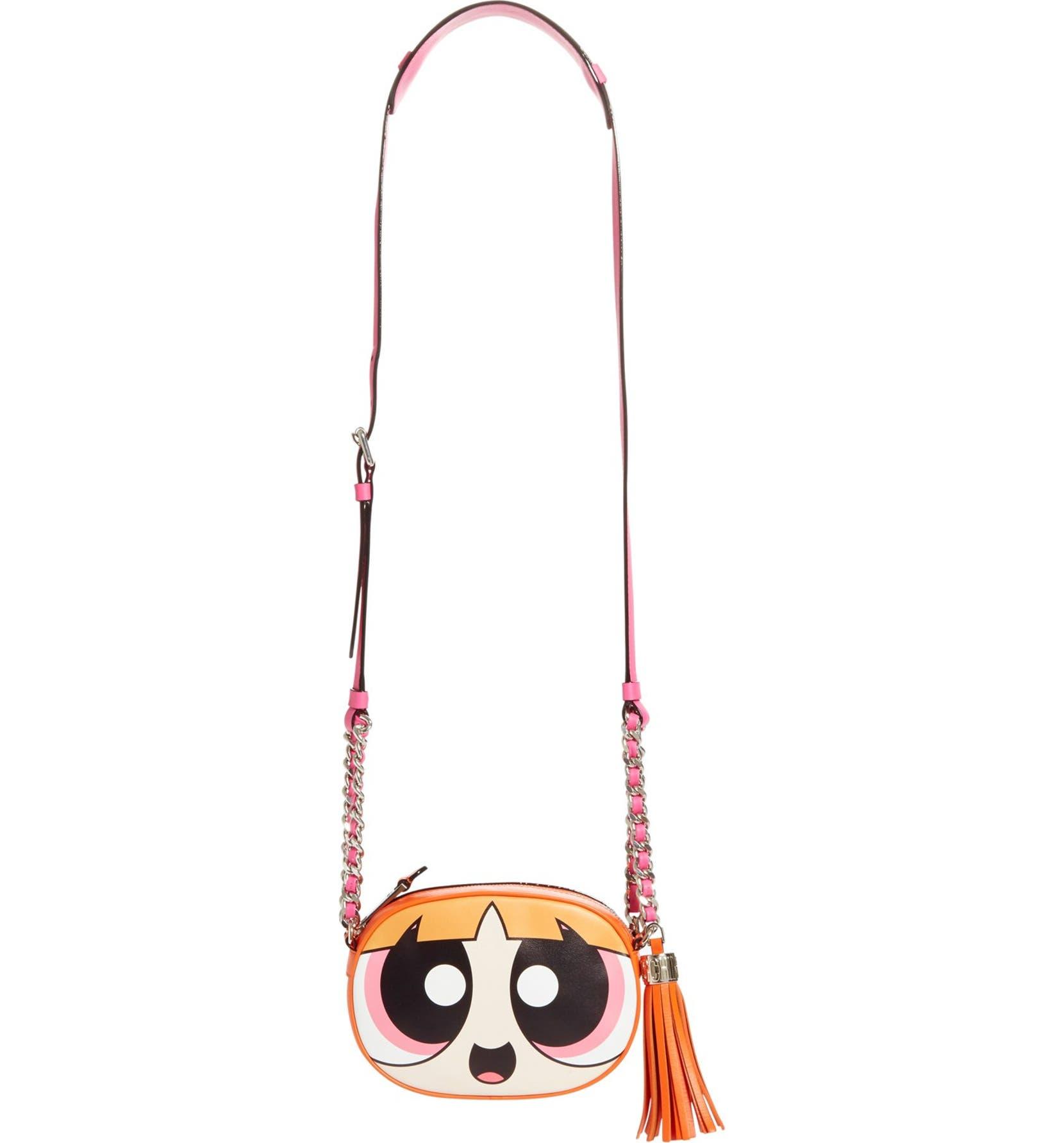 dbfe0854067bb Moschino 'The Powerpuff Girls® - Blossom' Canteen Crossbody Bag | Nordstrom