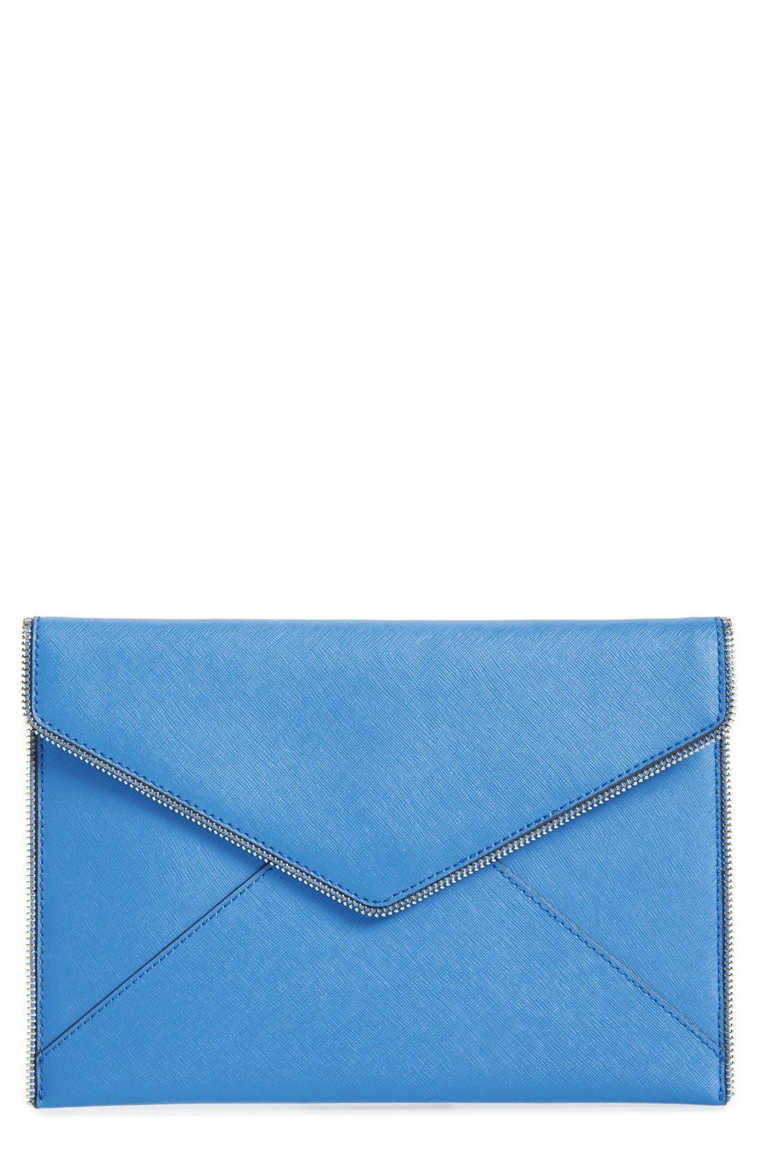 ,                             Leo Envelope Clutch,                             Main thumbnail 181, color,                             403