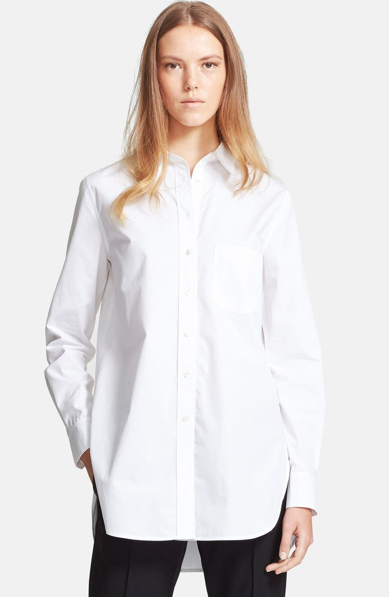 VINCE Long Sleeve Tunic, Main, color, 100