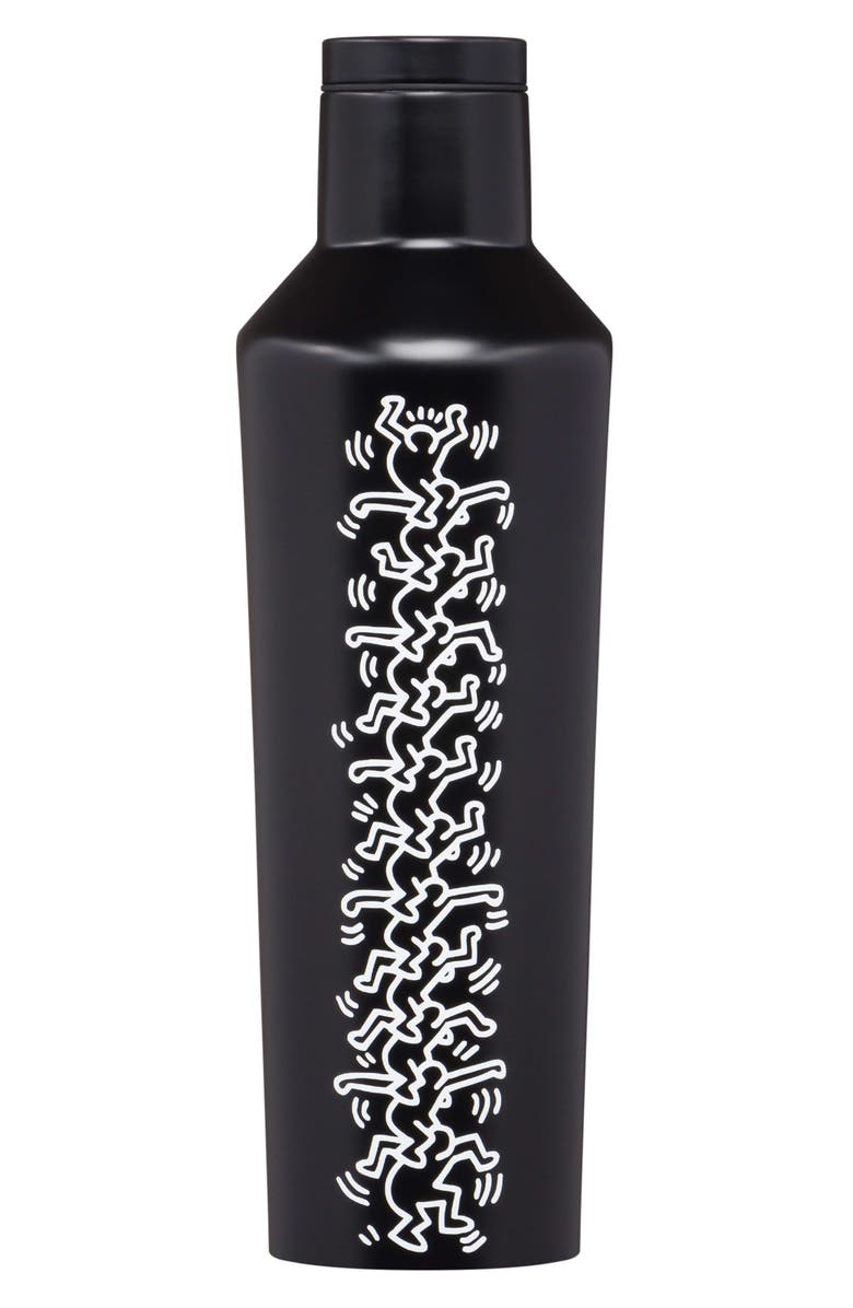 CORKCICLE x Keith Haring Insulated 16-Ounce Stainless Steel Canteen, Main, color, 001