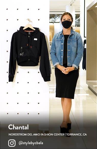 Naomi Osaka Fleece Zip Hoodie, sales video thumbnail