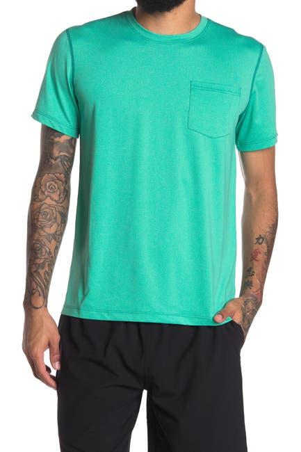 Image of THE NORMAL BRAND Performance Patch Pocket T-Shirt