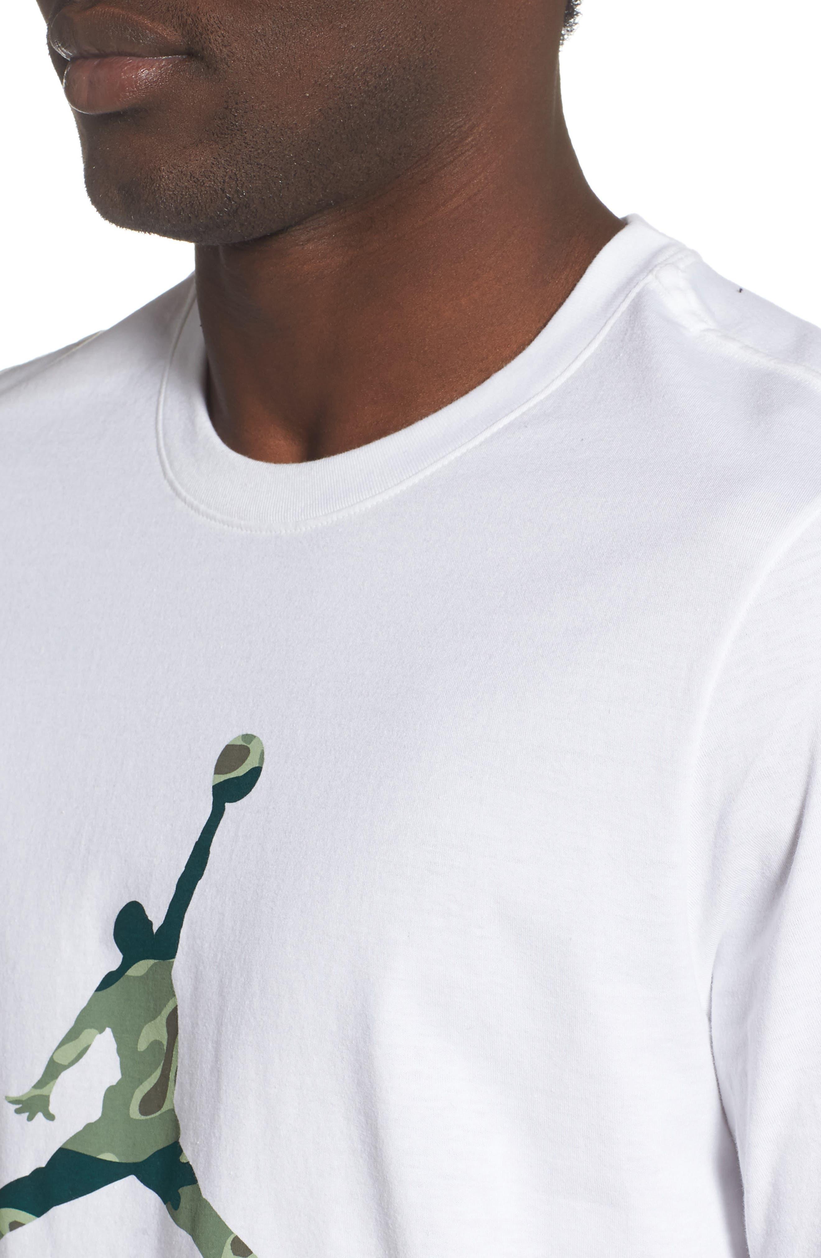 ,                             Camo Jumpman T-Shirt,                             Alternate thumbnail 11, color,                             100