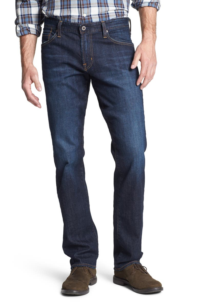 AG Graduate Slim Straight Leg Jeans, Main, color, ROBINSON
