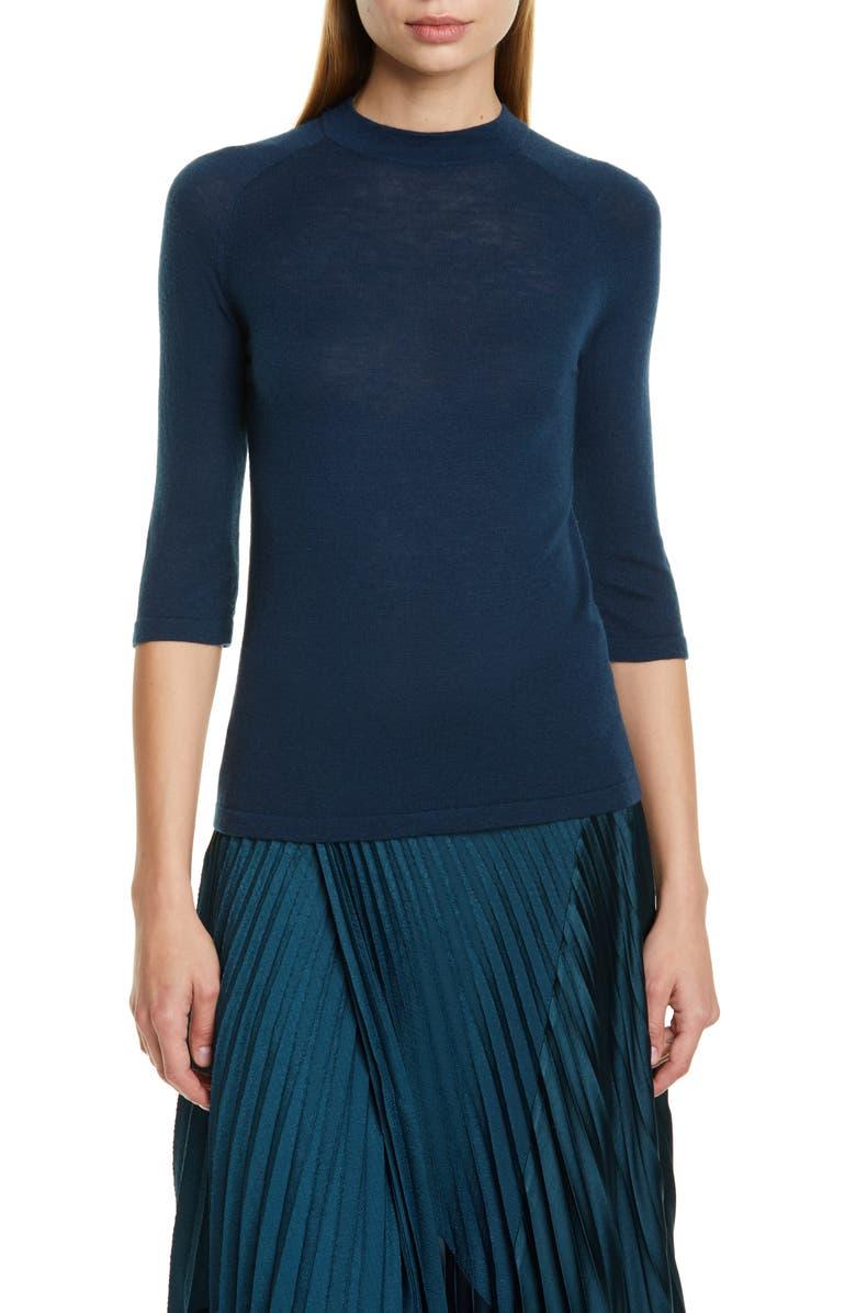 VINCE Wool Blend Sweater, Main, color, CARPINTERIA