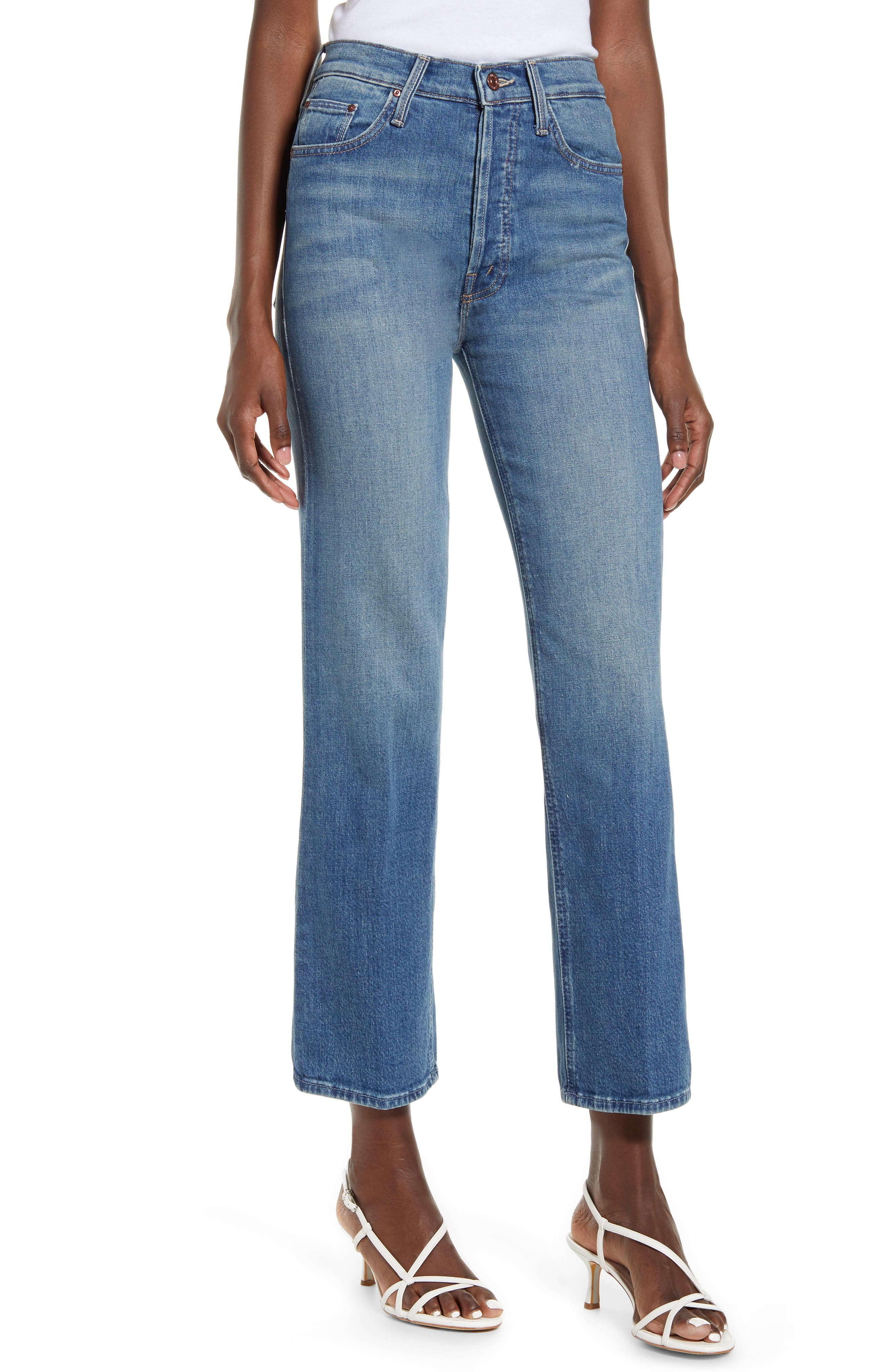 Image of MOTHER The Tripper High Waist Crop Bootcut Jeans