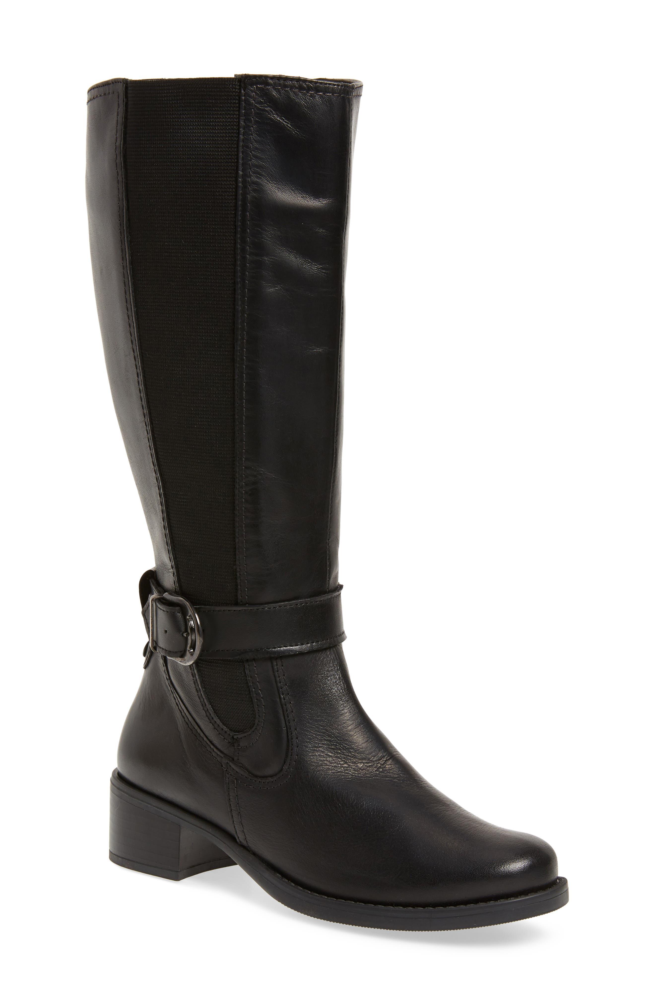 David Tate Amalfi 16 Boot- Black
