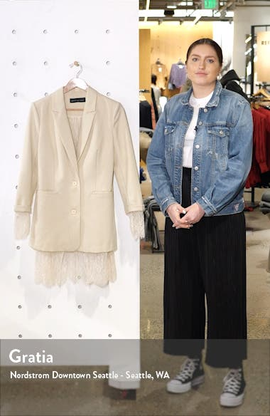 Lace Lined Jacket, sales video thumbnail