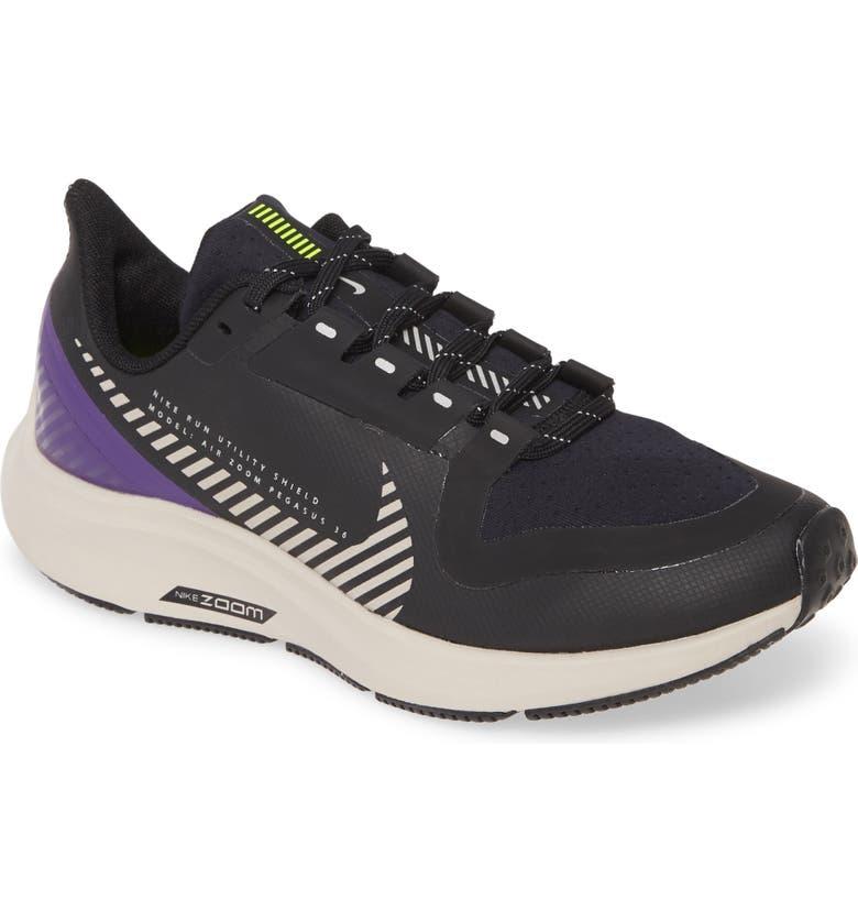 Nike Air Zoom Pegasus 36 Shield GS Water Repellent Shoe ...