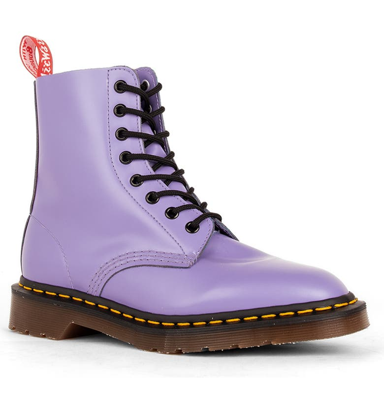 DR. MARTENS x UNDERCOVER Limited Edition 1460 8-Eye Boot, Main, color, LAVENDER LEATHER