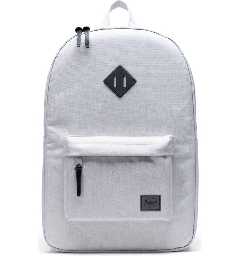 HERSCHEL SUPPLY CO. Heritage Print Backpack, Main, color, VAPOR CROSSHATCH