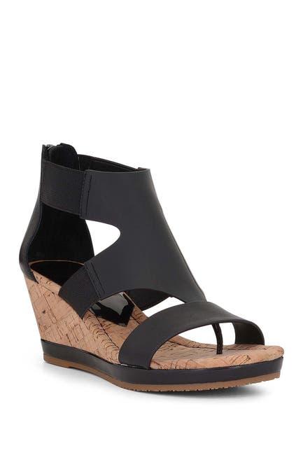 Image of Donald Pliner Maraa Leather Wedge Sandal